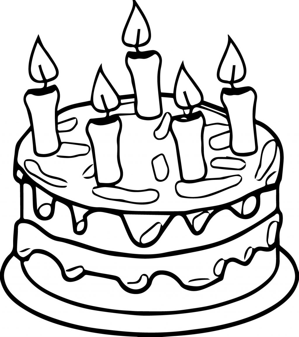 birthday cake pictures to color free birthday cake coloring pages to download and print for free free birthday color pictures cake to