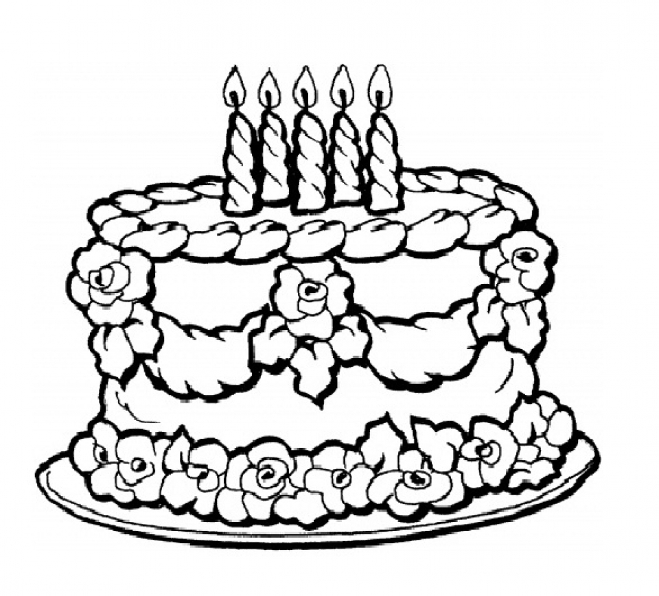 birthday cake pictures to color free get this birthday cake coloring pages free printable 9466 to color pictures free cake birthday