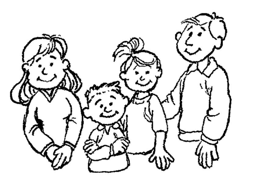 black family coloring pages best black family clipart 23699 clipartioncom black family pages coloring