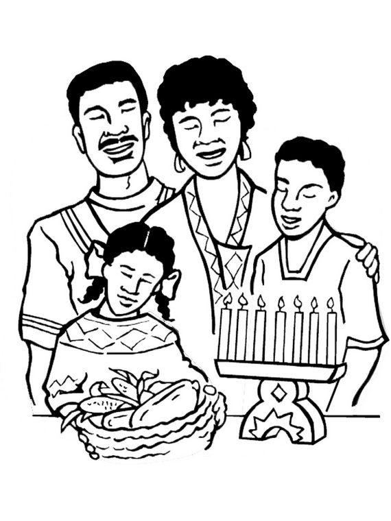 black family coloring pages december holiday kwanzaa coloring pages coloring pages family pages black coloring