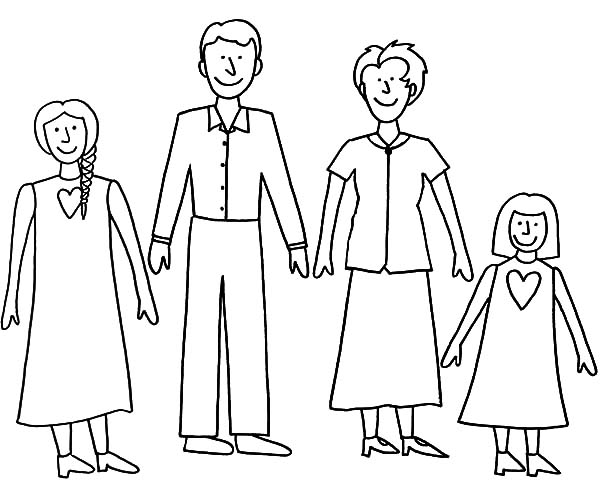 black family coloring pages family photo drawing at getdrawings free download black family coloring pages