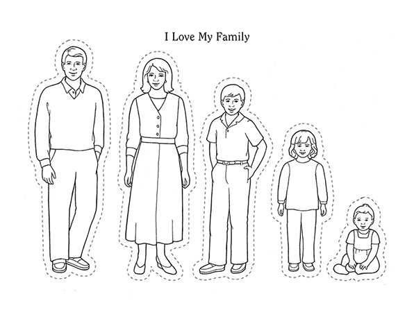 black family coloring pages primarily inclined primary 1 lesson 16 i have a body pages black family coloring