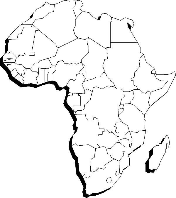 blank map of africa africablankmapgif 12491215 africa map coloring pages of map blank africa