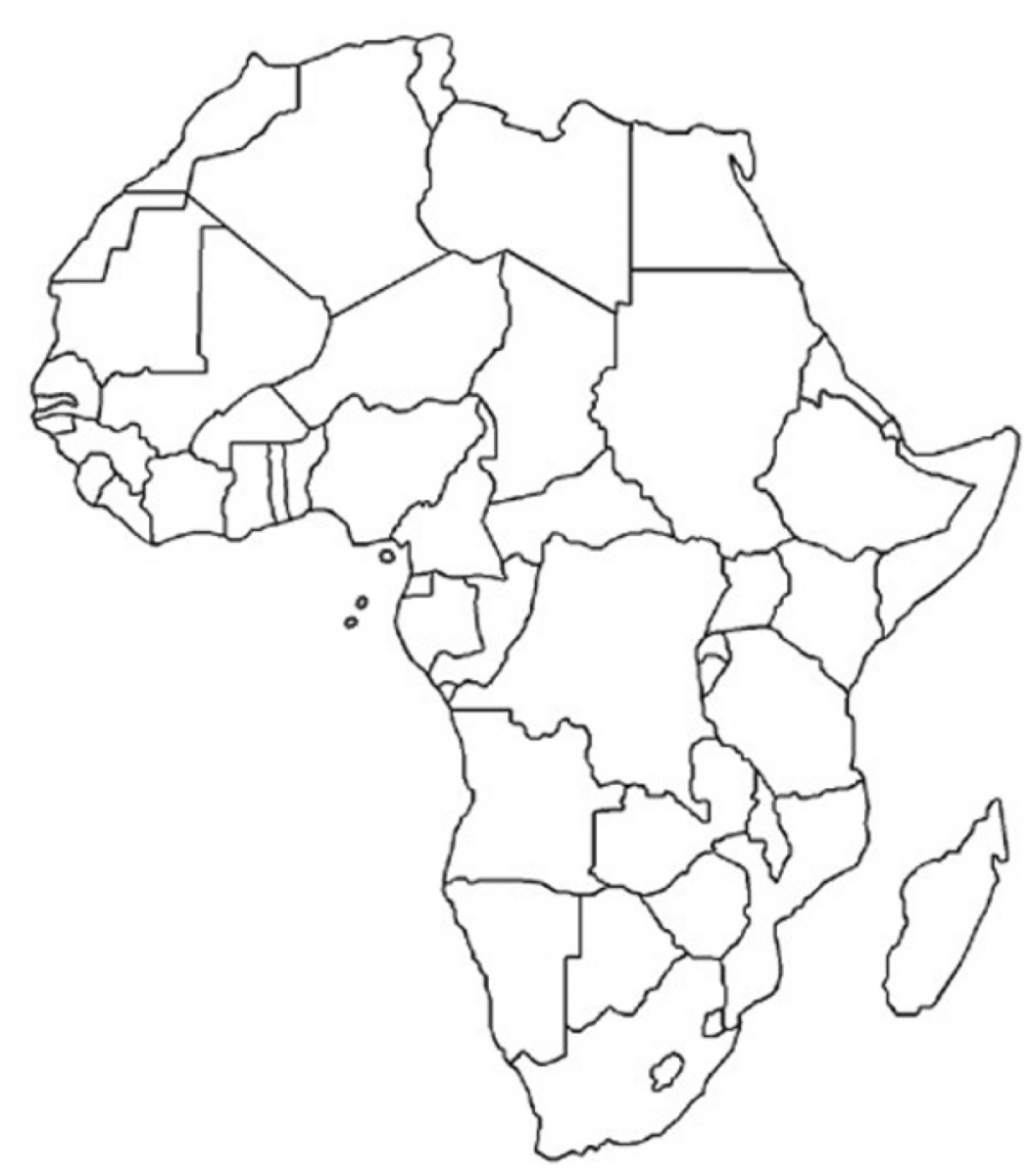 blank map of africa blank map of africa large outline map of africa africa map blank of