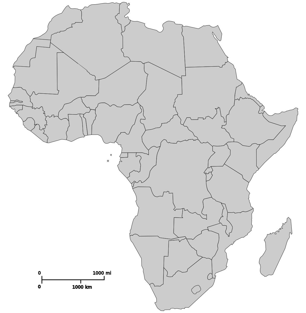 blank map of africa printable blank map african countries diagram outstanding blank africa map of