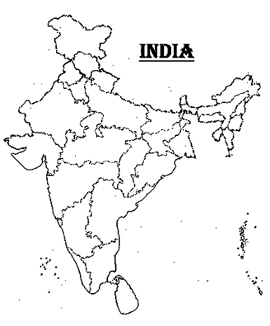blank map of india india free map free blank map free outline map free blank india map of