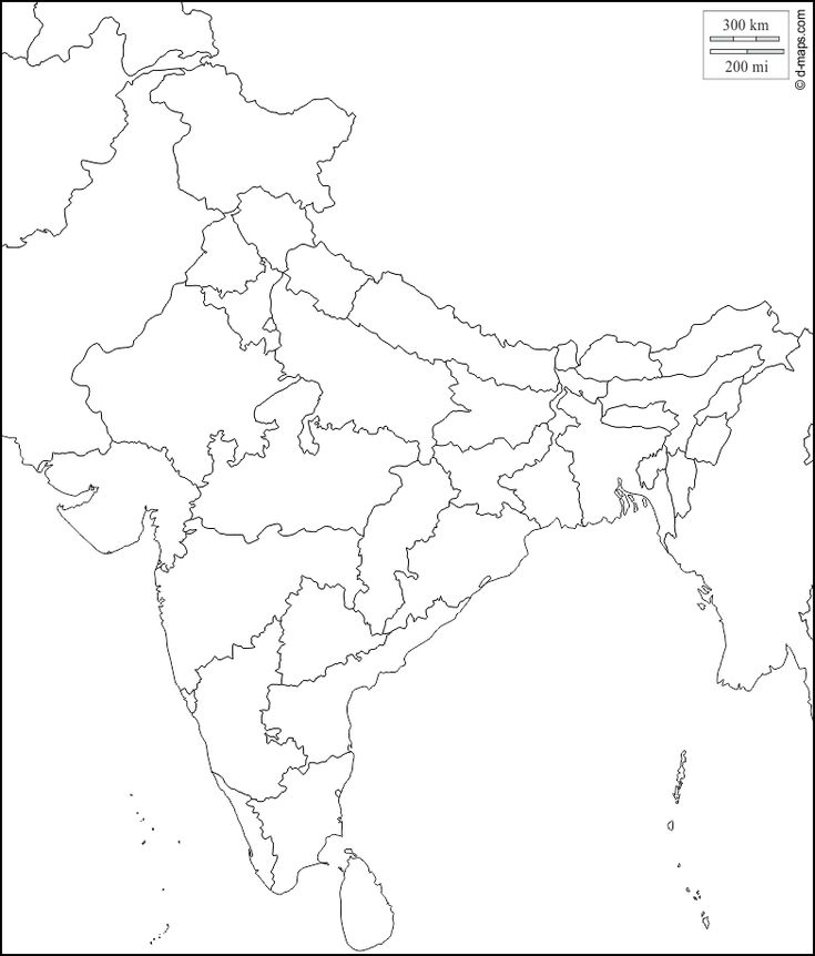 blank map of india printable blank map of india outline transparent png map blank map of india