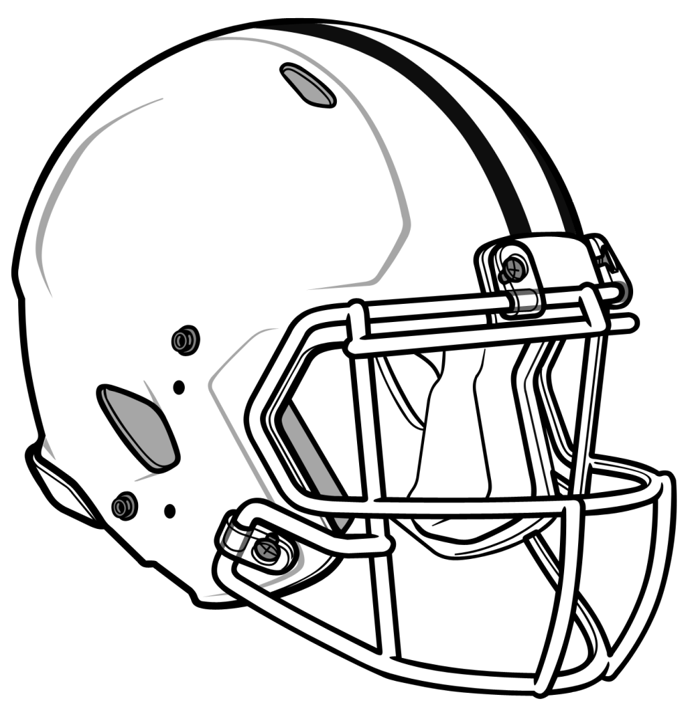 blank nfl logo blank coloring football helmet pages 2020 check more blank logo nfl