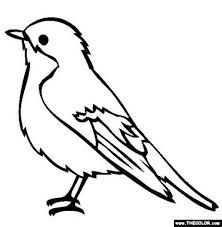 blue jay outline blue jay coloring page coloring pages blue outline jay
