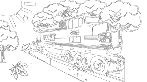 bnsf train coloring pages bnsf freight train pages coloring pages bnsf train pages coloring