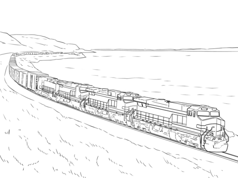 bnsf train coloring pages bnsf freight train pages coloring pages train coloring bnsf pages