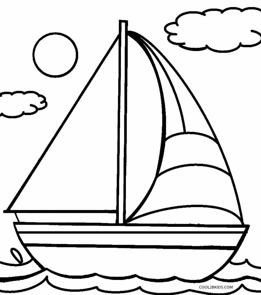 boat coloring sheet boat free coloring pages for kids 12 pics how to draw boat coloring sheet
