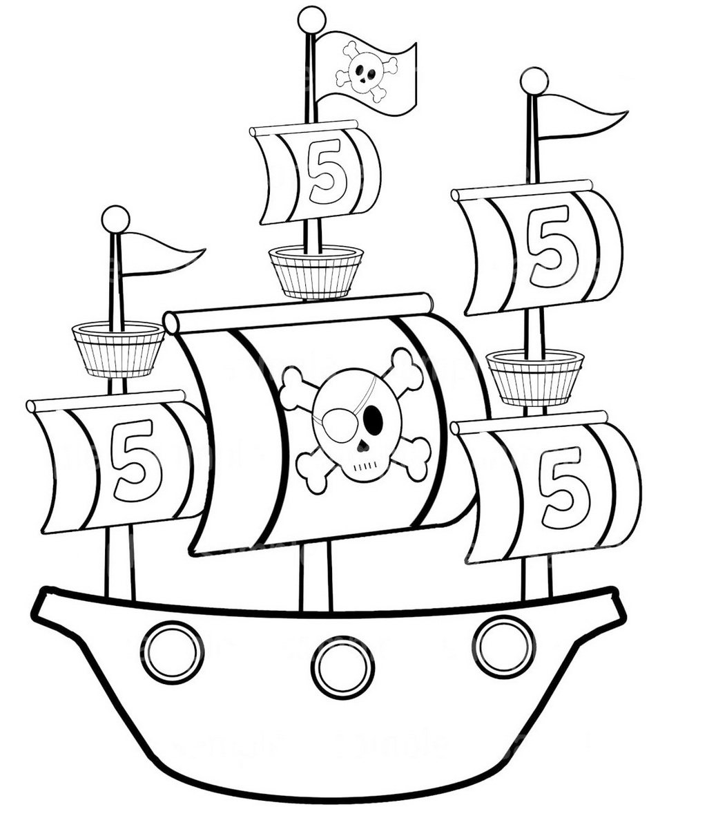 boat coloring sheet simple pirate ship coloring pages for preschool boat coloring sheet