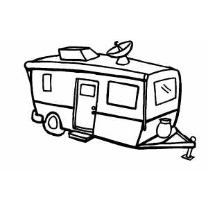 boat trailer coloring pages free trailer cliparts download free clip art free clip pages trailer boat coloring