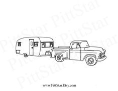 boat trailer coloring pages trailer drawing at getdrawings free download coloring pages boat trailer