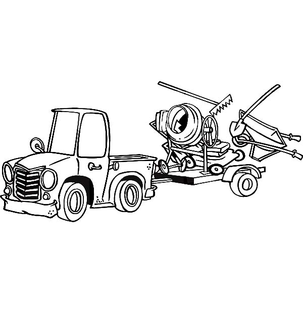 boat trailer coloring pages truck pulling trailer coloring pages coloring pages coloring pages trailer boat