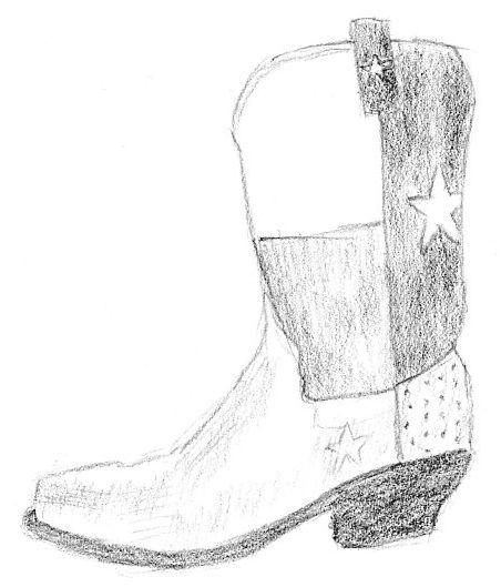 boot draw drawn boots pencil and in color drawn boots boot draw