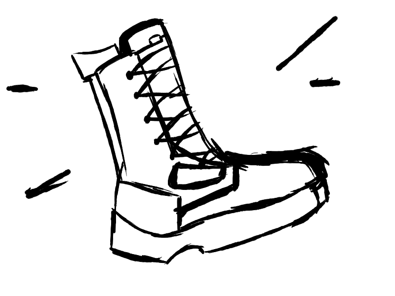 boot draw pin on industrial design drawing sketch book 1st year boot draw