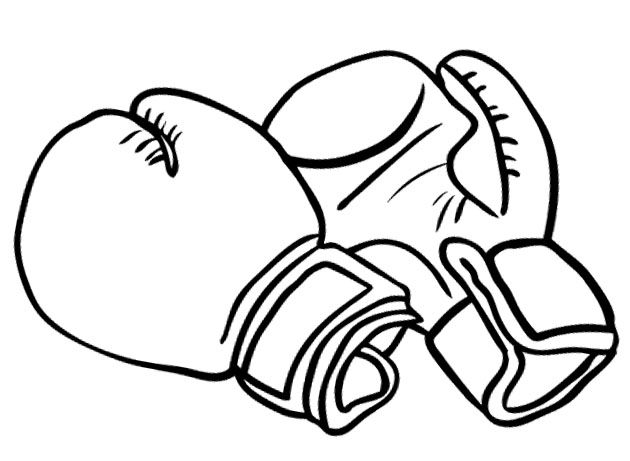 boxing gloves coloring pages boxing gloves for strong coloring pages enfant gloves pages coloring boxing
