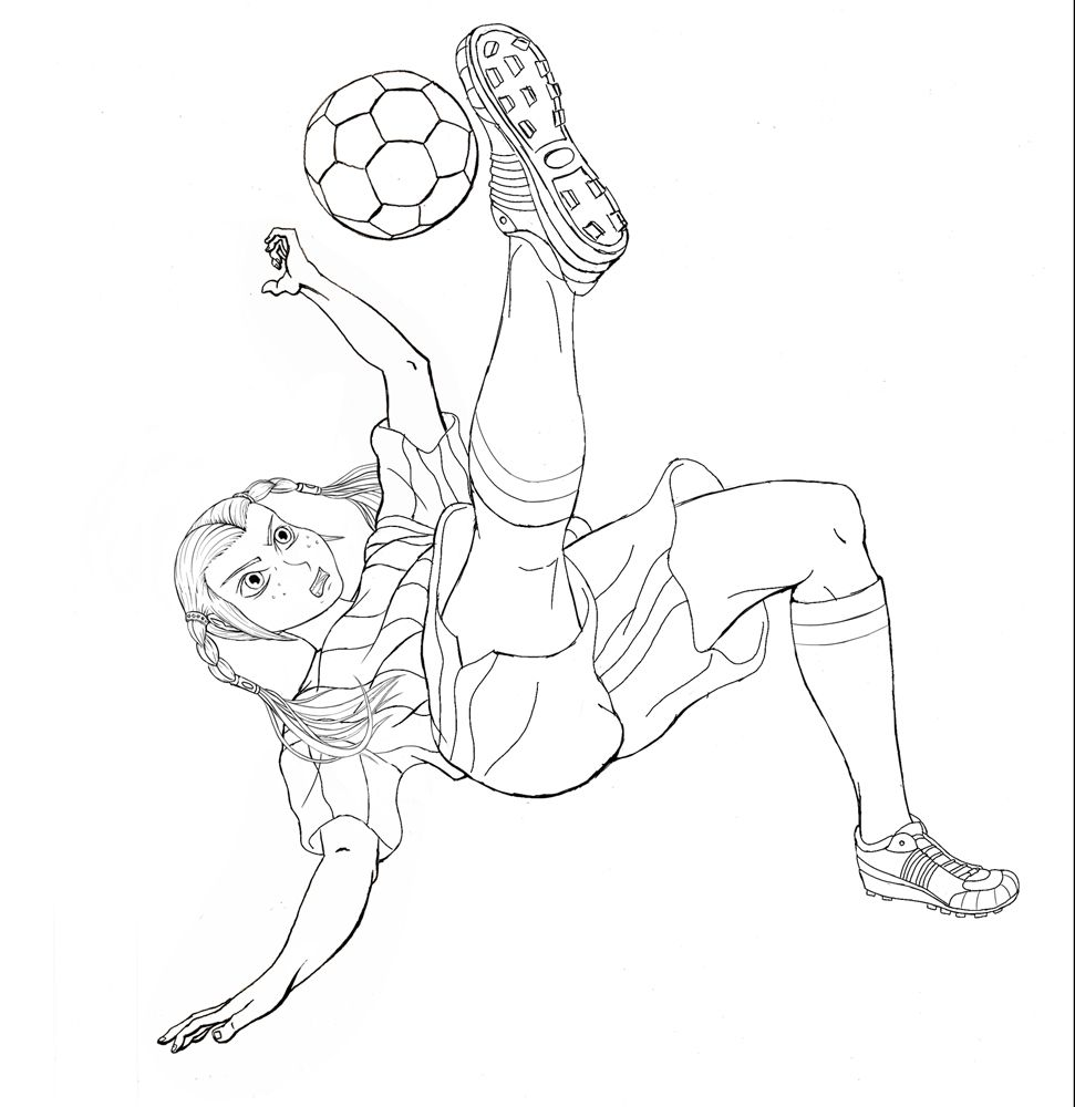 boxy girl coloring pages girl playing soccer coloring page of 800x1050px coloring girl pages coloring boxy