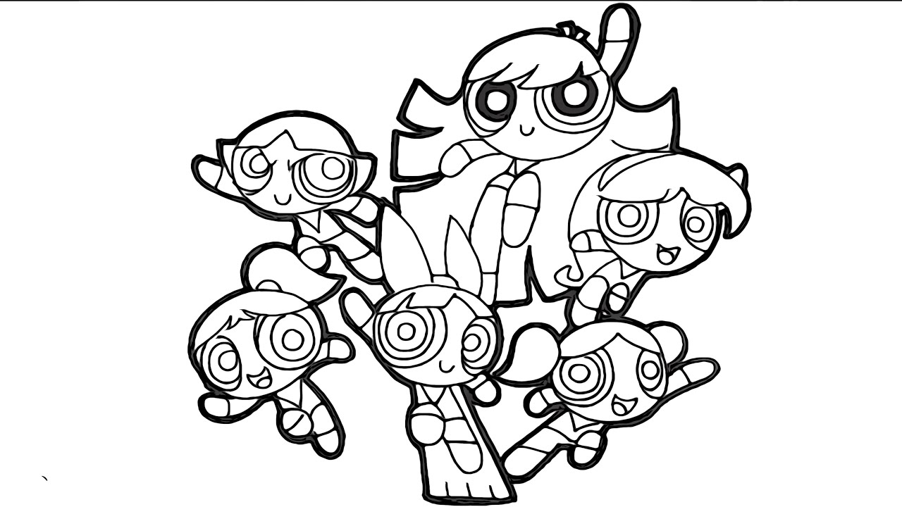boxy girl coloring pages powerpuff girls coloring and drawing compilation blossom boxy pages coloring girl