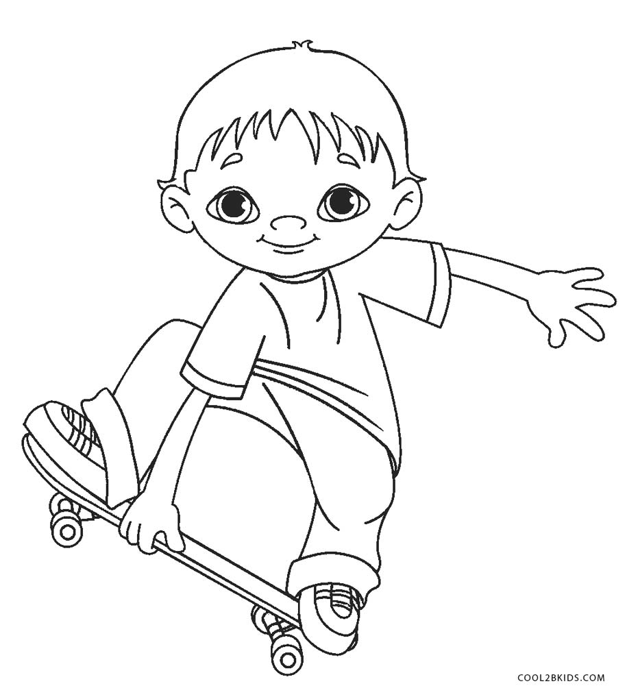 boy coloring pages free printable boy coloring pages for kids pages boy coloring