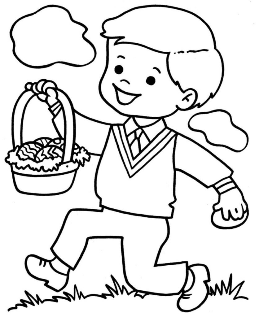 boy coloring pages little boy coloring page pages boy coloring