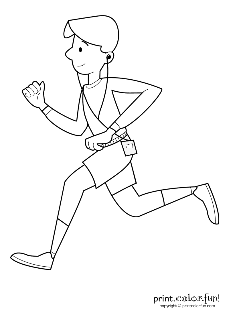 boy running coloring page line art of little boy running free clip art boy page running coloring