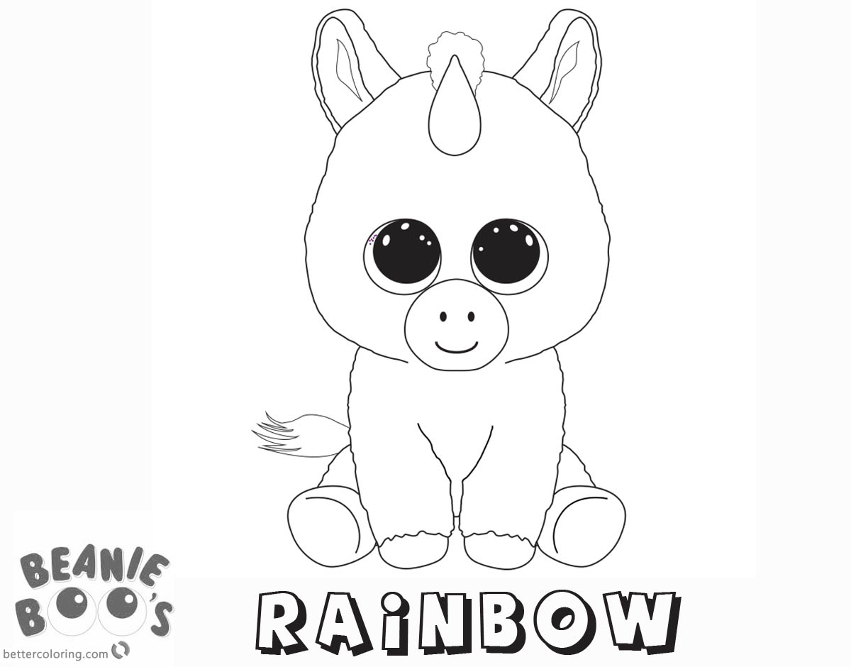 bratz coloring pages that you can print beanie boo coloring pages unicorn rainbow free printable you that bratz pages can coloring print