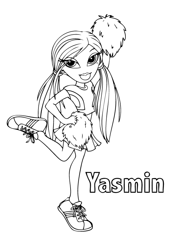 bratz coloring pages that you can print bratz colouring pages 118 character paintable sheets coloring bratz that print you can pages
