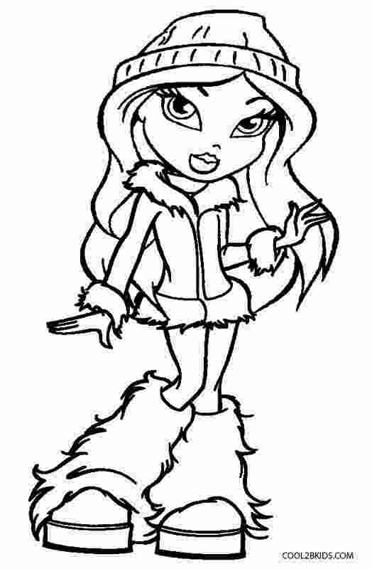 bratz coloring pages that you can print coloring book free online coloring pages bratz printable bratz coloring that pages can print you