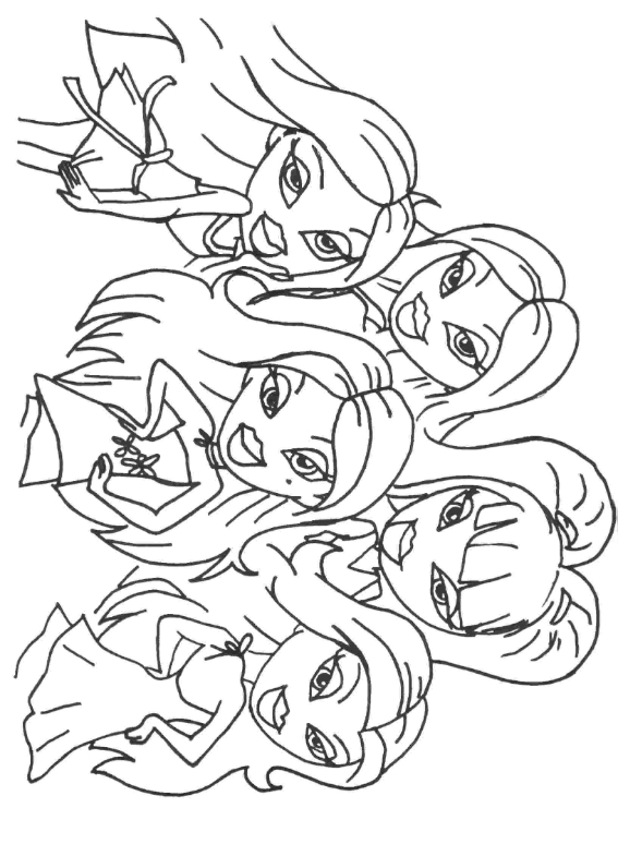 bratz coloring pages that you can print free bratz coloring pages 2016 can bratz pages that you print coloring