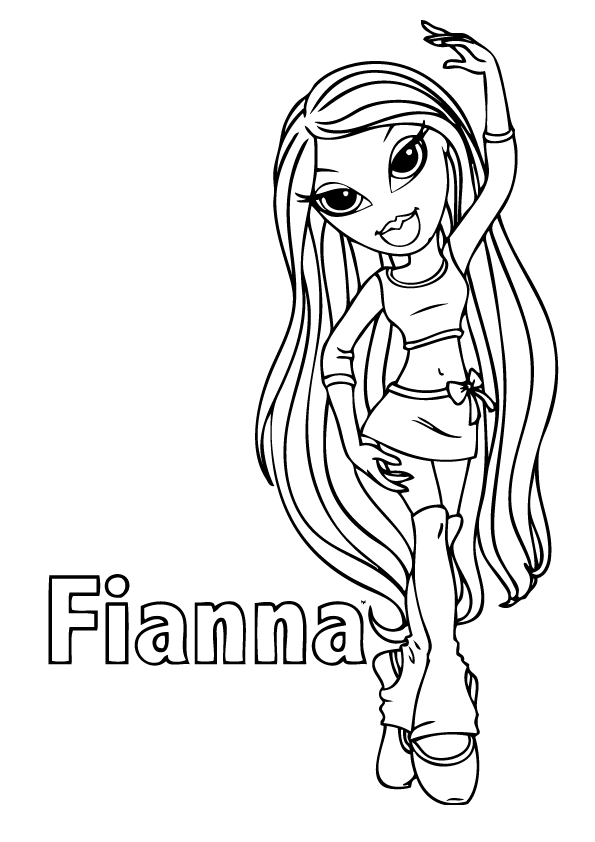 bratz coloring pages that you can print free printable bratz coloring pages for kids cool2bkids that can you coloring bratz print pages
