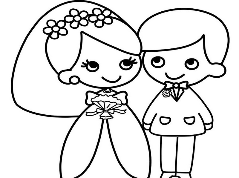 bride and groom coloring pages personalized printable bride groom wedding party favor coloring bride and groom pages