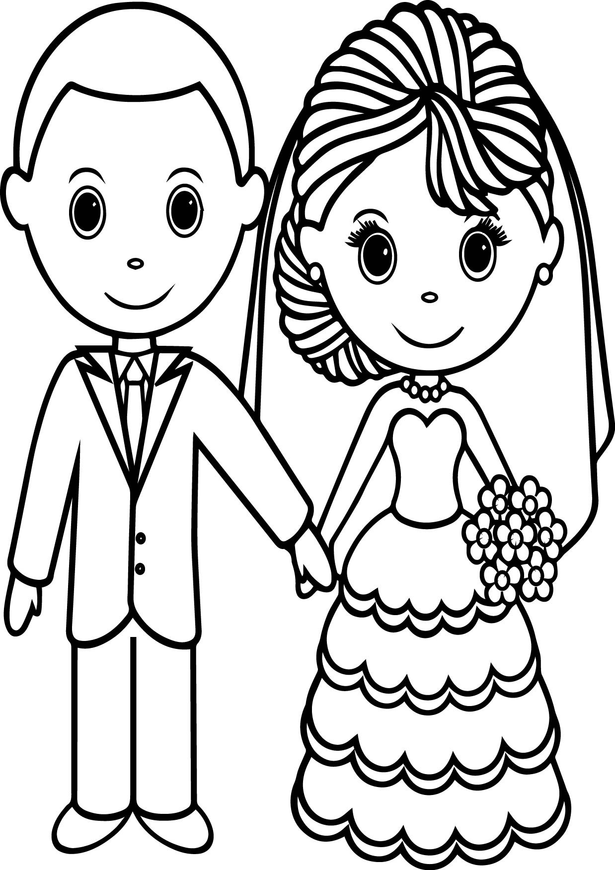 bride and groom pictures to colour in bride and groom coloring pages download free bride and pictures to in bride and colour groom