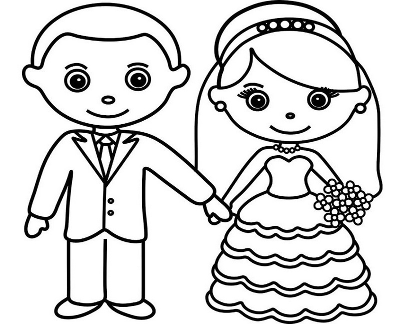 bride and groom pictures to colour in bride and groom line art drawing page line art drawings groom and in bride colour to pictures