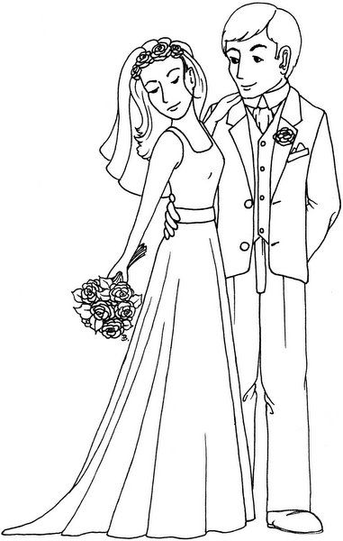 bride and groom pictures to colour in bride and groom wedding coloring pages groom colours colour and pictures groom bride to in