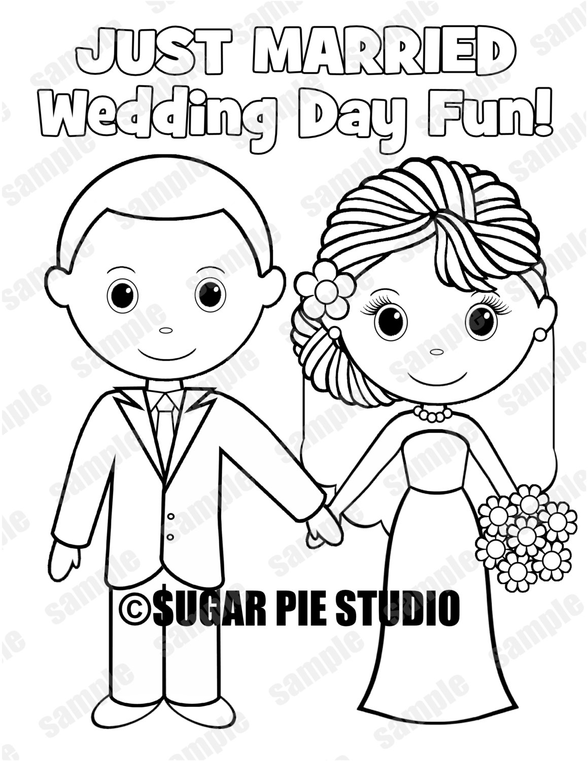 bride and groom pictures to colour in instant download printable bride groom wedding coloring page bride to in groom pictures and colour