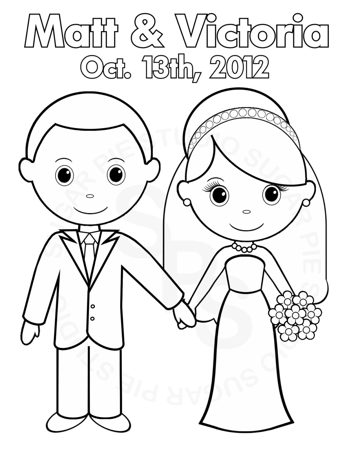 bride and groom pictures to colour in just married coloring pages getcoloringpagescom colour and in groom pictures bride to
