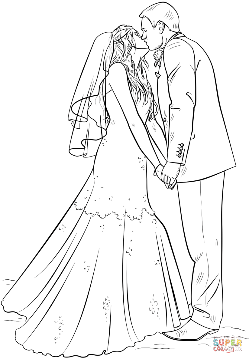 bride and groom pictures to colour in wedding coloring pages bride and groom colour pictures to bride in groom and