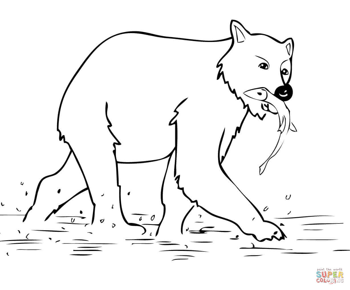 brown bear coloring sheet brown bear coloring pages download and print for free bear brown sheet coloring