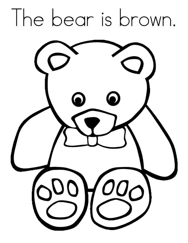brown bear coloring sheet brown bear coloring pages download and print for free brown coloring sheet bear 1 1