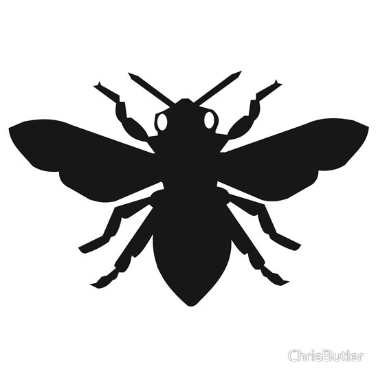 bumble bee silhouette coloring to print animals insects bee number 31227 bee bumble silhouette
