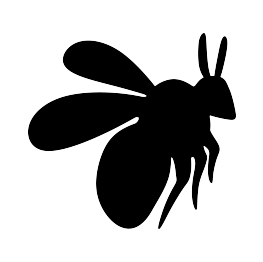 bumble bee silhouette free bee silhouette cliparts download free clip art free bee bumble silhouette