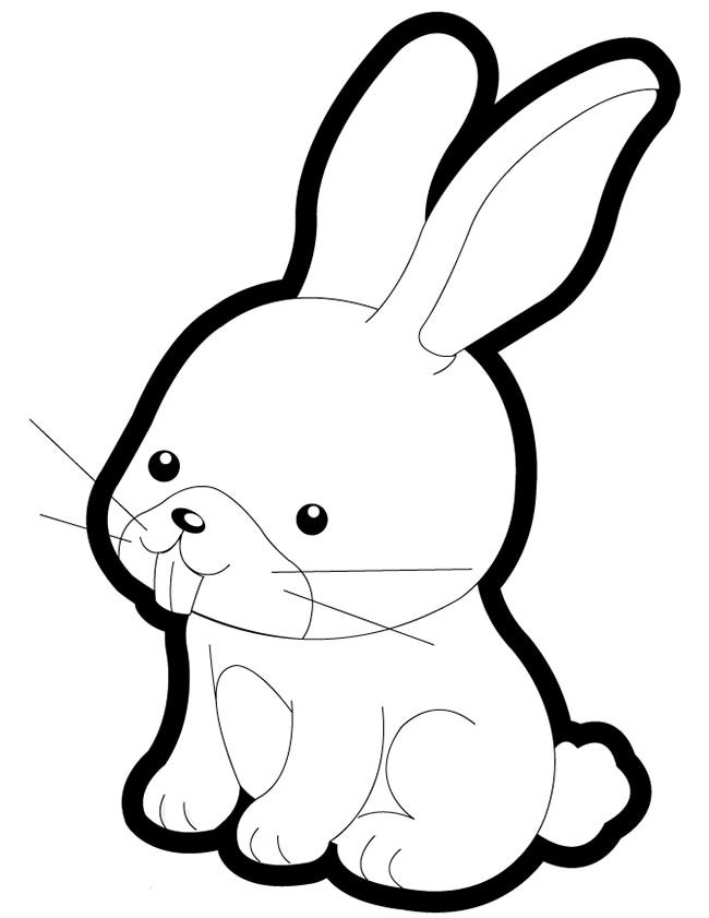 bunny coloring picture baby bunny coloring pages coloring home bunny picture coloring