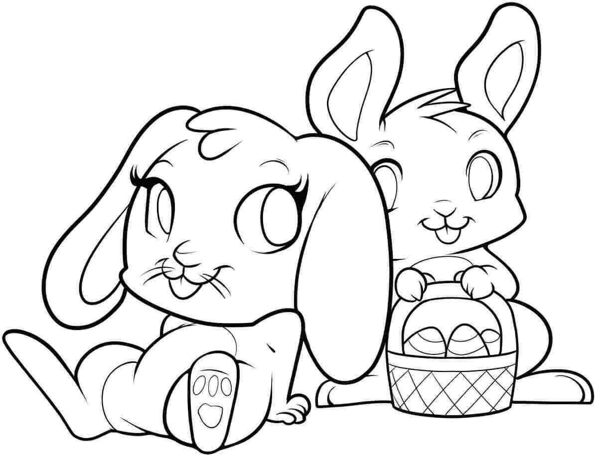 bunny coloring picture cute bunny colouring image picture coloring bunny