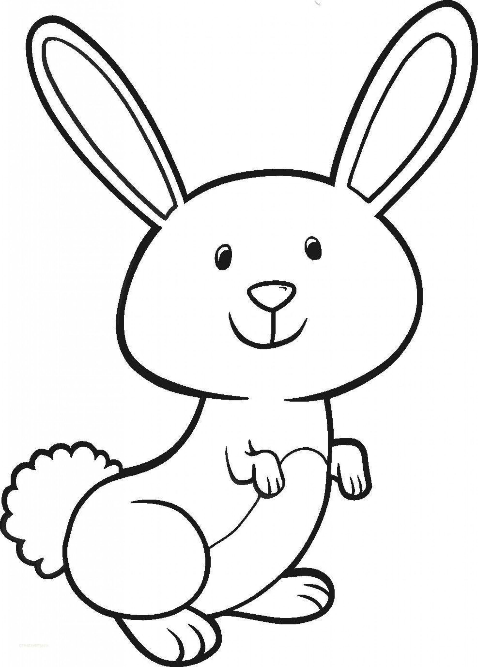 bunny coloring picture free rabbit coloring pages coloring picture bunny