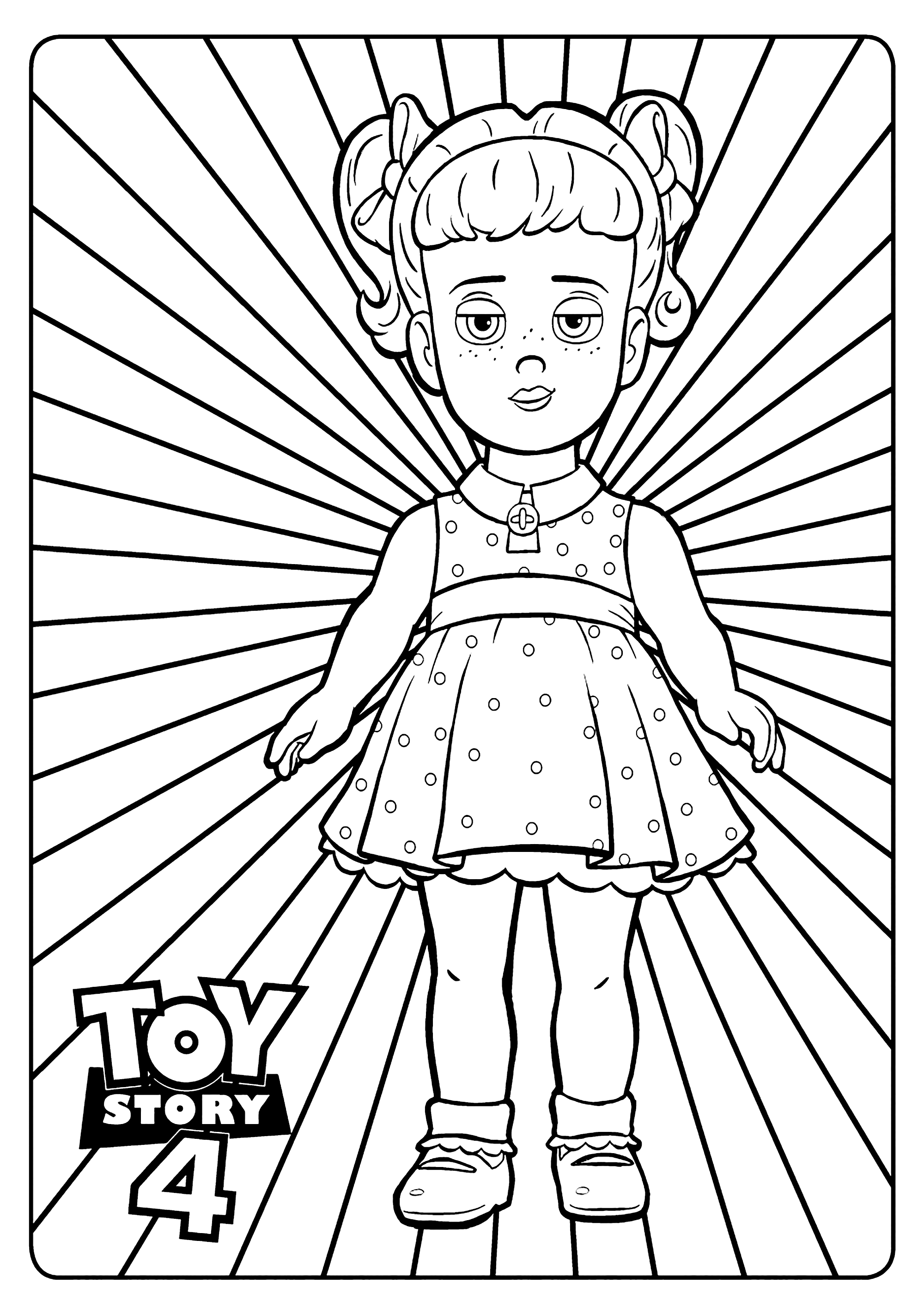bunny toy story 4 coloring pages coloring pages pages 4 story bunny toy coloring