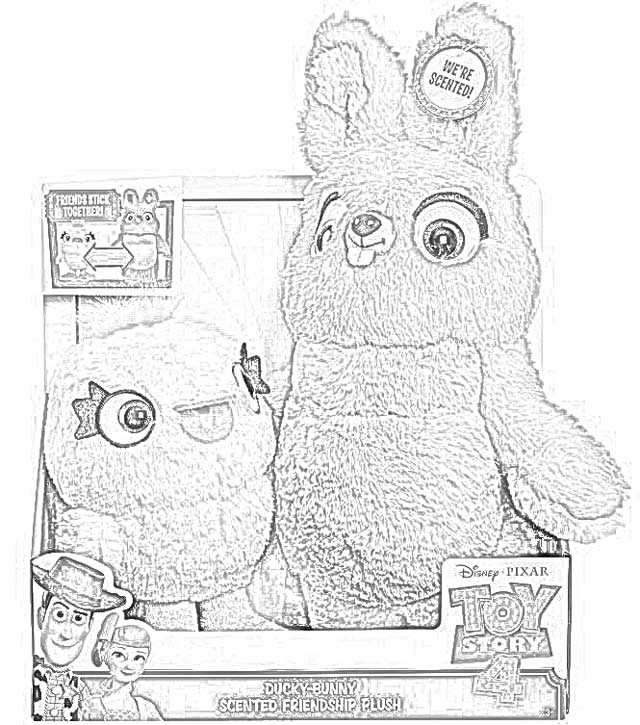 bunny toy story 4 coloring pages toy story 4 coloring pages printable for free visual bunny 4 coloring story pages toy