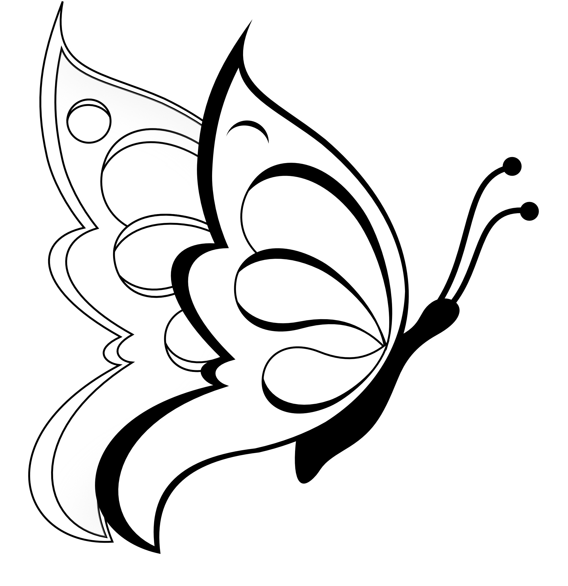 butterfly coloring sheet printable butterfly coloring printables for kids printable butterfly sheet coloring